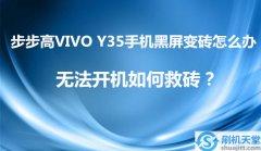 步步高VIVO Y35手机黑屏变砖怎么办