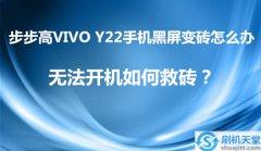 步步高VIVO Y22手机黑屏变砖怎么办