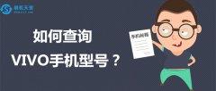 如何查询VIVO手机型号及版本?